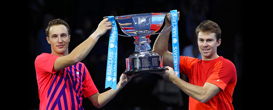 Kontinen/Peers ATP World Tour Finals Champions 2016