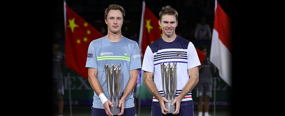 Kontinen/Peers wins Shanghai Masters doubles title 2017